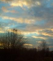 Sunset-Sunrise-Clouds Picture Window Film
