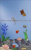 Under the Sea Decorative Film Clings
